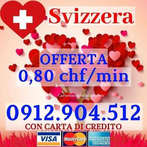 Cartomanzia con carta di credito per la svizzera